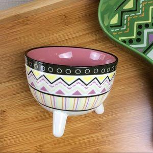Other - Aztec Print Ceramic Bowl NWOT
